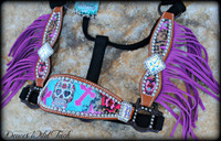 Sugar Skull Cheek Halter