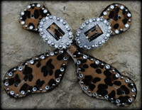 Cheetah Hide Straps