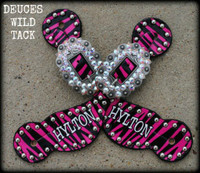 KIDS Personalized Zebra Straps