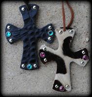 Custom Mini Hide Cross