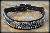 12 Gauge Collar With Name 10-21""