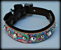"Small Dog Collar 8 -10"" Pick Your Pattern"