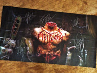 """Inked in Blood"" Autographed Poster"