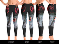 """Cause of Death"" Womens Leggings"