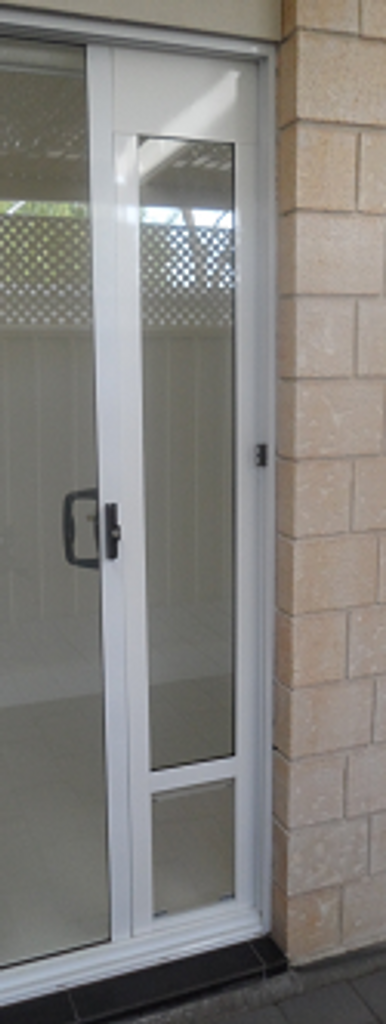 pet door for sliding doors by Modern Pet Doors