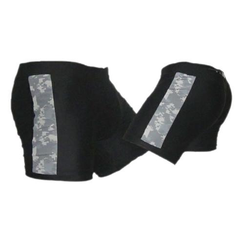 Black with ACU Stripe Digicam Vale Tudo Shorts