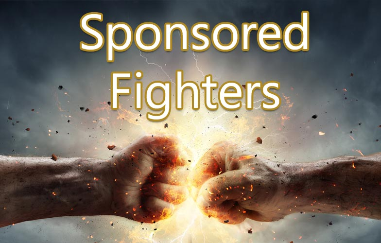 Sponsored MMA Fighters