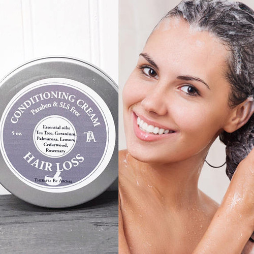 Our 100% Natural conditioner is made with specific essential oils to stimulate hair growth and prevent hair loss.