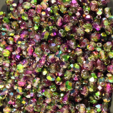 4mm Crystal Magic Orchid 95000 Fire Polish ( 600 Pieces )