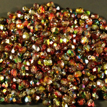 4mm Crystal Magic Apple 95600 Fire Polish ( 600 Pieces )