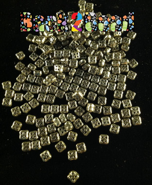 Old Steel 4Ceed© has a Old World look to it....app. 270 beads per 25 grams