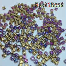 * Golden Passion 4Ceed© ( 98545 ) 3x5 Four Hole Seed Bead ( 25 gram bag )