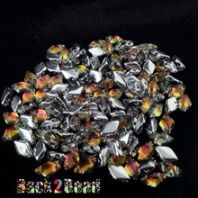 8x5 MattTequila BackLit Gem Duos 25 grams packages 28002 ( .8MM Hole )