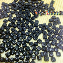 Black 4Ceed© ( 23980 ) 3x5 Four Hole Seed Bead 25 gram bag, app 270 beads