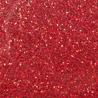 "Iron-on Red Glitter 9.875"" x 12"""