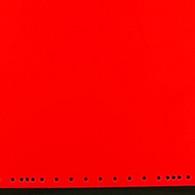 """Fluorescent Orange Red 12"""" x 15"""""""
