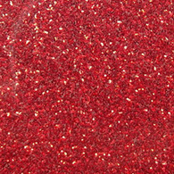 "Iron-on Red Glitter 19.75"" x 36"""