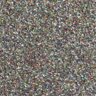 "Iron-on Light Multi Glitter 19.75"" x 36"""