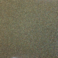 "Iron-on Gold Confetti Glitter 19.75"" x 36"""