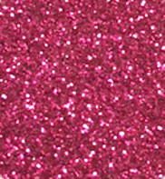 "Iron-on Hot Pink Glitter 19.75"" x 36"""