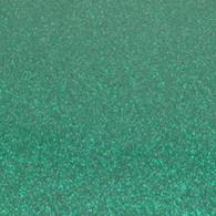 "Iron-on Emerald Glitter 9.875"" x 12"""