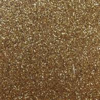 """Iron-on Old Gold Glitter 9.875"""" x 12"""""""