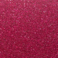 "Iron-on Blush Glitter 9.875"" x 12"""