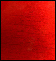 "Brushed Red 12"" x 24"""