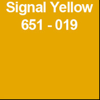 "Signal Yellow (Gloss) 12"" x 10yd"