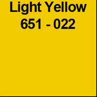 "Light Yellow (Gloss) 12"" x 10yd"