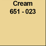 "Cream (Gloss) 12"" x 10yd"