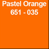 "Pastel Orange (Gloss) 12"" x 10yd"