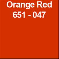 "Orange Red (Gloss) 12"" x 10yd"