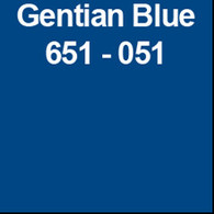 "Gentian Blue (Gloss) 12"" x 10yd"