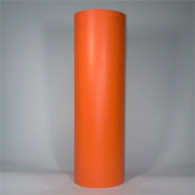 "Light Orange (Matte) 12"" x 5yd"
