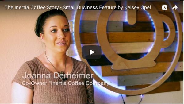 The Inertia Coffee Story by Kelsey Opel
