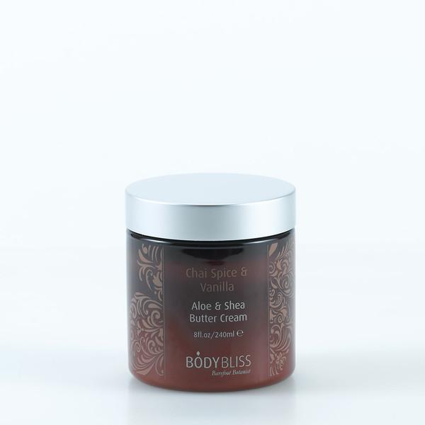Chai Spice & Vanilla Aloe & Shea Butter Cream