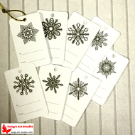8 Printable Gray Snowflake Gift Tags-01