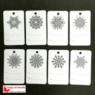 8 Printable Gray Snowflake Gift Tags-02
