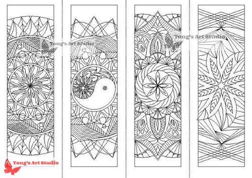 Bookmarks Coloring