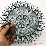 mandala paper cutting,