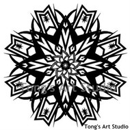 Instant Download-Mandala Style Paper Cut Pattern-005