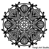 Instant Download-Mandala Style Paper Cut Pattern-006