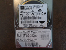 Toshiba MK8025GAS HDD2188 F ZK02 T PN:389918-001 610 A0/KA024A 80gb IDE (Donor for Parts)