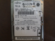 Fujistsu MHV2060AT PL CA06557-B39100TW 09DE5A-000000A0 60gb IDE (Donor for Parts)