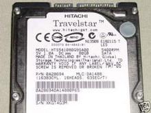 HITACHI HTS541080G9SA00 80GB MLC:DA1488 PN:0A28694 250521950646