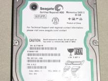 SEAGATE ST980811AS, 9S1132-308, 80GB SATA FW:3.ALC WU