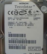 "10 pc. lot Hitachi HTS541080G9SA00 2.5"" 80gb 5400rpm Sata HDD (DOD Wiped)"