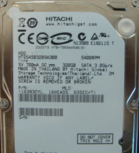"10 pc. lot Hitachi HTS545032B9A300 2.5"" 320gb 5400rpm Sata (DOD tested & Wiped)"