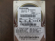 Toshiba MK6026GAX HDD2194 D ZK01 T 630 A0/PA202D 60gb IDE/ATA 65RK3867T (T)